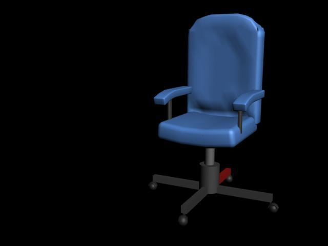 Chair. my first ever model, don't laugh.