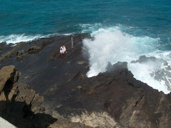 Halona Blow Hole...Oahu