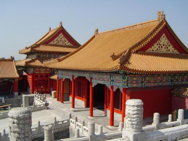 Part of the Forbidden City, Beijing China