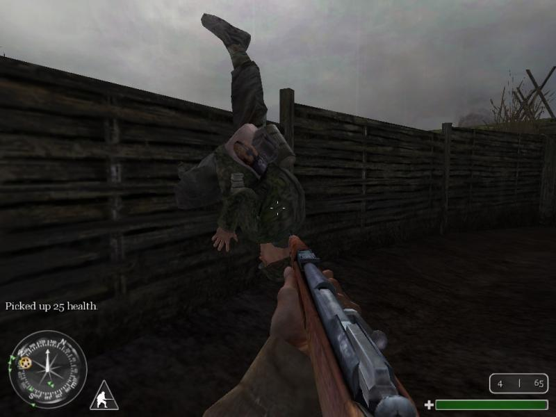 COD-Stuck in Trench