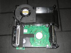 Bottom of HDD & Case