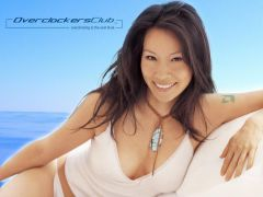 Babes of OCC Wallpaper Series - Lucy Liu